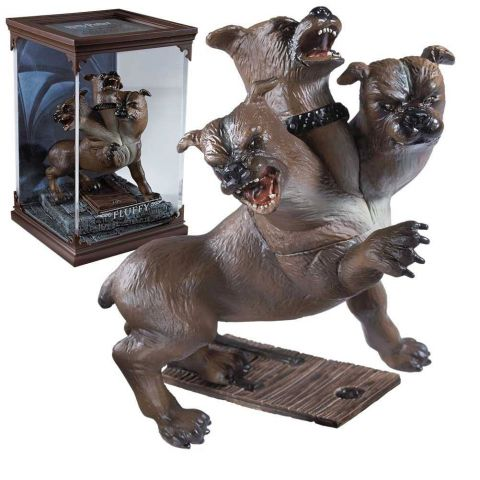 fluffy pluisje | magical creatures diorama noble collection harry potter