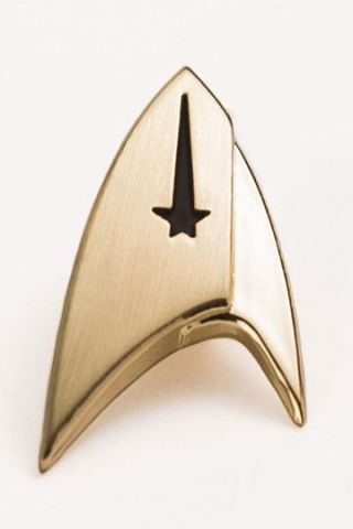 star trek discovery command pin insignia