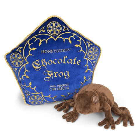 Chocolade kikker knuffel / chocolate frog plush noble collection