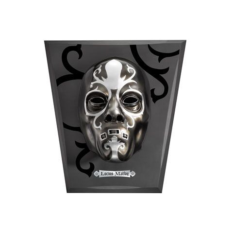 Dooddoener masker | Deatheater mask | Lucius Malfoy Malfidus | Noble Collection | NN7118