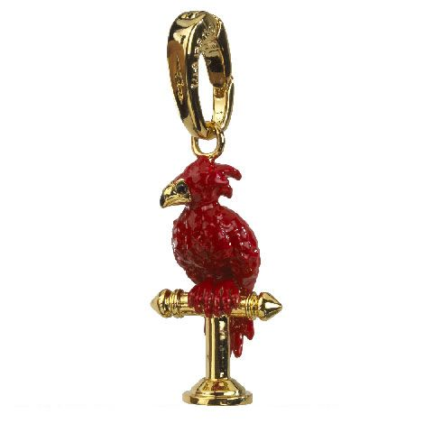 Fawkes the Phoenix charm - Felix bedel - Harry Potter | Noble Collection
