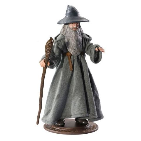 Gandalf the Grey bendable figure - Lord of the Rings | Noble Collection