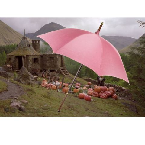 Hagrid's umbrella open - Harry Potter | Noble Collection