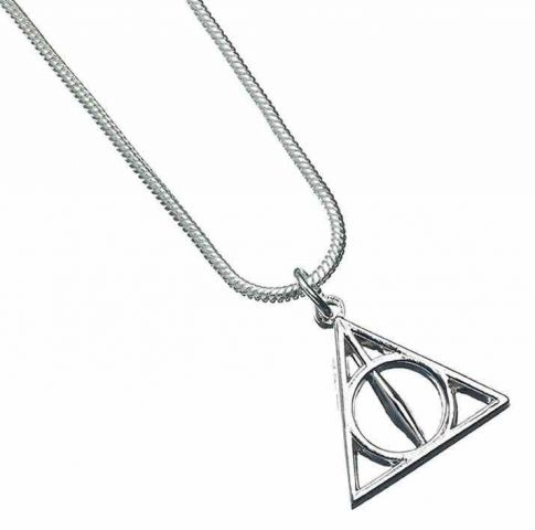 Harry Potter ketting - Deathly Hallows | Carat