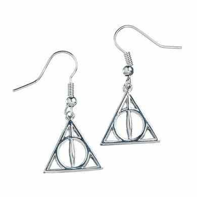 Harry Potter oorbellen - Deathly Hallows | Carat