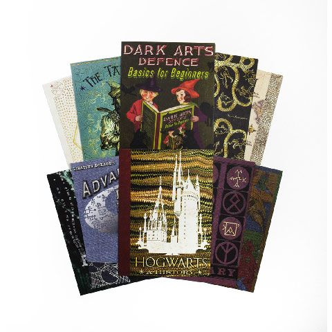 minalima kaart kaft schoolboek harry potter