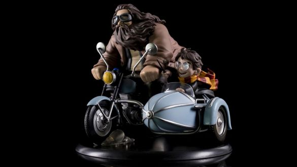 Rubeus Hagrid Harry Potter motor Q-fig Quantum Mechanix