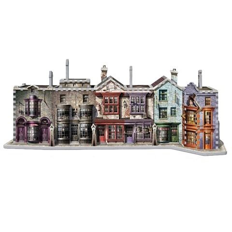 Diagon Alley - 3d puzzel | Wrebbit