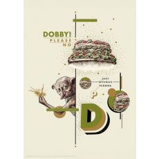 Dobby Art Print - Harry Potter | Fanattik