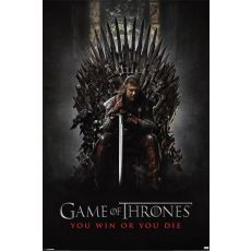 You Win Or You Die poster Game of Thrones