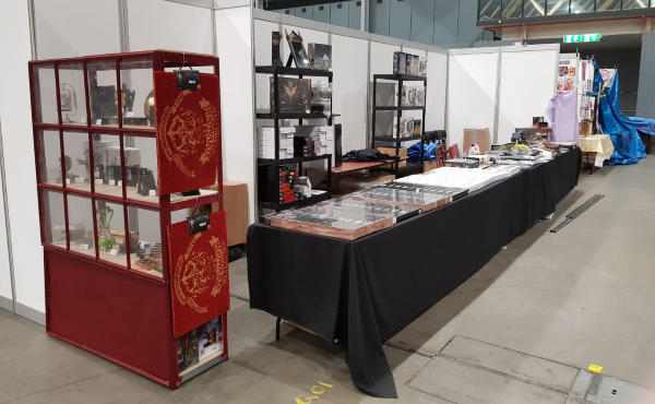 Heroic Tales stand - Dutch Comic Con 2019