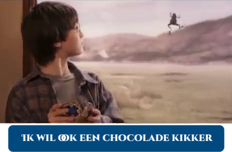 Chocolate frog - Harry Potter